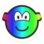 Rainbow buddy icon Colours  sticker_sheets