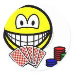 Poker smile   sticker_sheets