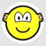 Ear plugs buddy icon   sticker_sheets