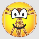 Vitruvian Man emoticon Da vinci  sticker_sheets