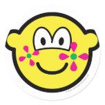 Flower power buddy icon   sticker_sheets
