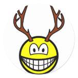 Deer smile   sticker_sheets