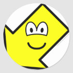 Down left buddy icon arrow  sticker_sheets