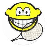 Tennis smile   sticker_sheets
