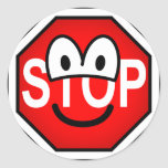 Stop sign emoticon   sticker_sheets