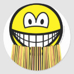 Grass skirt smile   sticker_sheets