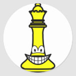 Queen Chess smile  sticker_sheets