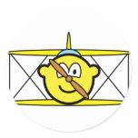 Biplane buddy icon   sticker_sheets