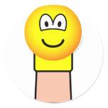 Sock puppet emoticon   sticker_sheets