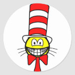 Cat in the hat smile   sticker_sheets