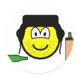 Bum buddy icon   sticker_sheets
