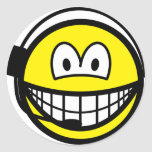 Headset smile   sticker_sheets