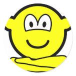 Yoga buddy icon   sticker_sheets