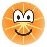 Orange emoticon   sticker_sheets