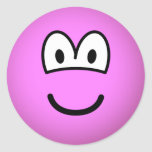 Colored emoticon pink  sticker_sheets