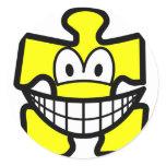Jigsaw piece smile   sticker_sheets