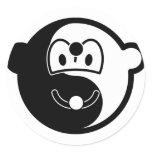 Ying Yang buddy icon [Black/Yellow]  sticker_sheets