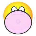 Bubble gum emoticon   sticker_sheets
