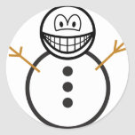 Snowman smile   sticker_sheets
