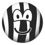 Zebra emoticon   sticker_sheets