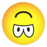 Upside down emoticon   sticker_sheets