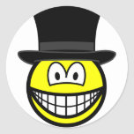 Black hat smile Six Thinking Hats - Critical Evaluation  sticker_sheets