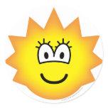 Simpson emoticon Lisa  sticker_sheets
