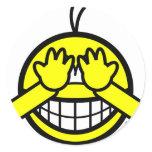 Peek-a-boo smile   sticker_sheets