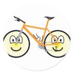 Mountain bike emoticon   sticker_sheets