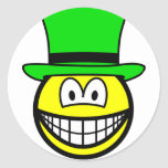 Green hat smile Six Thinking Hats - Creative Lateral Thinking  sticker_sheets