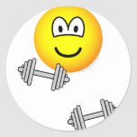 Dumbbells emoticon Free weight training  sticker_sheets