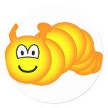 Caterpillar emoticon   sticker_sheets