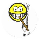 Peacepipe smile   sticker_sheets