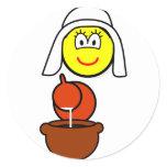 Dutch milk maid buddy icon   sticker_sheets