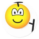 Tonfa emoticon martial arts  sticker_sheets