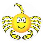 Scorpio emoticon Zodiac sign  sticker_sheets