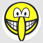 Big nosed smile   sticker_sheets