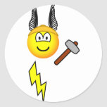 Thor emoticon God of Thunder  sticker_sheets