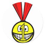 Medal smile   sticker_sheets