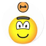 Piggy bank emoticon   sticker_sheets