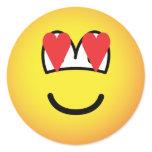 Emoticon in love   sticker_sheets