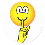Quiet emoticon   sticker_sheets