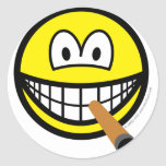 Cigar smile   sticker_sheets