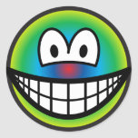 Psychedelic smile   sticker_sheets