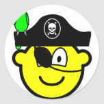 Pirate with parrot buddy icon   sticker_sheets
