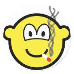 Smoking buddy icon   sticker_sheets