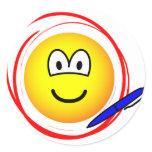 Circled emoticon Marked  sticker_sheets