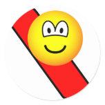 Snow boarding emoticon   sticker_sheets