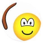Boomerang throwing emoticon   sticker_sheets