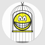 Caged smile   sticker_sheets